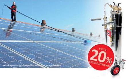 Photovoltaikanlagen Solaranlagen Reinigung