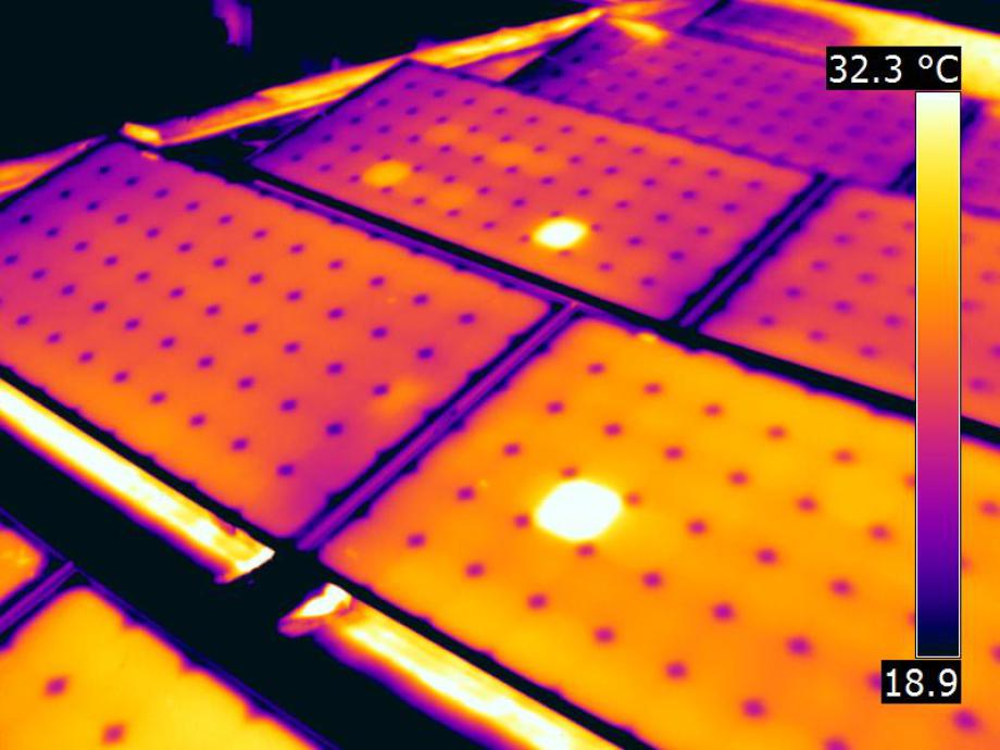 PV Thermografie Wartung Service Photovoltaik